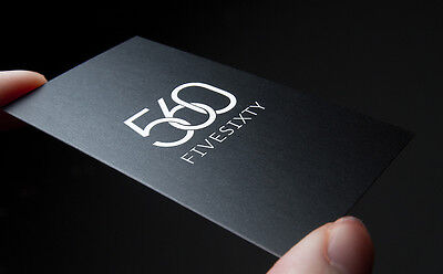 1000 Matte Business Card Printing 14PT, Ship from Canada