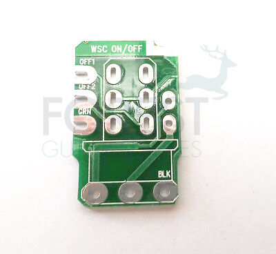 PCB circuit board for Push/pull guitar potentiometer, On/off