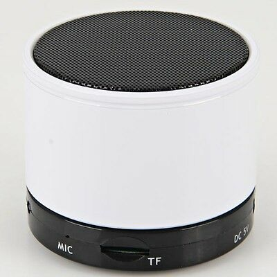 Quality S10 Bluetooth Mini Portable Speaker For Iphone Wireless Speakers-White