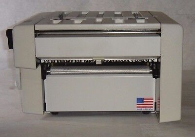 Hedman HF200 Simplimatic 0618 618 Manual Brochure Paper Folding Machine