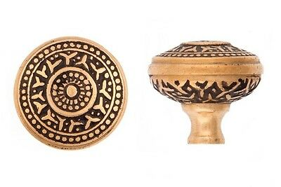 Cast Bronze Rice pattern cupboard cabinet knob