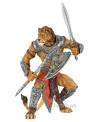 Papo 38945 Lion Man Mutant Warrior Fantasy Model Game Role Play Figure - NIP