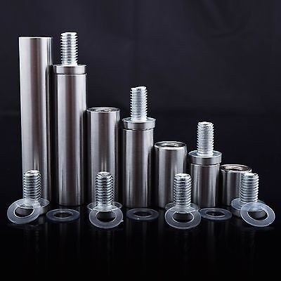 Stand Off Fixings For Glass Sign Fitting Bolts Mounts Nails Free P&P