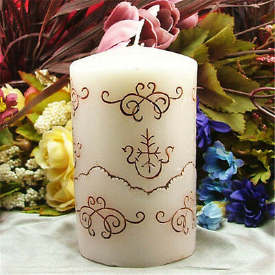 Cylinder Silicone Candle Mold Soap Craft Clay Handmade Decorating Resin Molds
