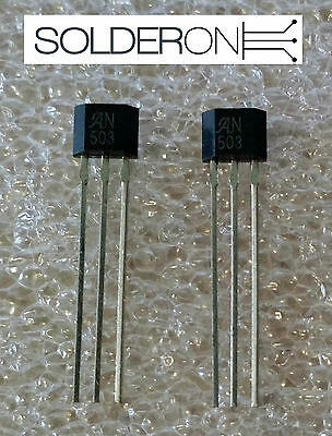 2pcs UGN3503UA Ratiometric Linear Hall Effect Sensor - Allegro Microsystems