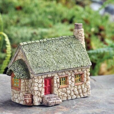 Miniature Dollhouse FAIRY GARDEN - Micro Mini Potter's Cottage - Accessories
