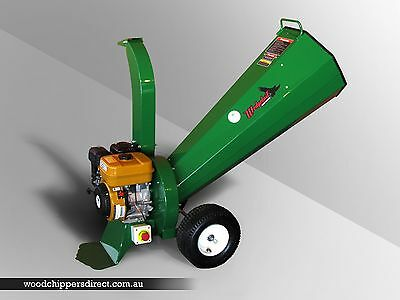 Wood Chipper Mulcher Shredder WT6-65 (65mm capacity) Australian Made Quality