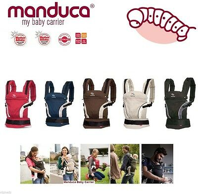 Manduca Newborn Infant To Toddler Child Front Back Hip Baby Carrier Many Colors