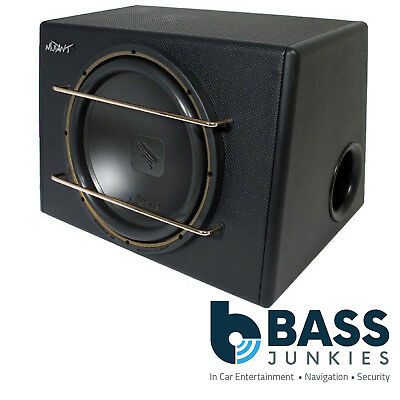 "12"" 500 Watts Passive Car  Sub Subwoofer Bass Box with Grille MUTANT MTSEN12SE"