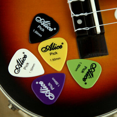 [NEW] 50pcs Electric Guitar Picks Plectrums(Assorted thickness&colors)