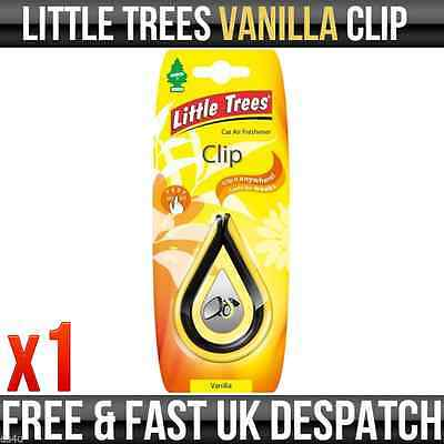 "Magic Tree ""little Tree"" Air Freshener Clip Vanilla Fragrance"