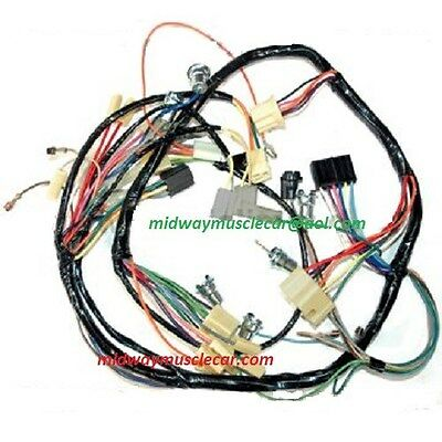dash wiring harness 57 Chevy 150 210 bel air nomad standard w/o radio & heater
