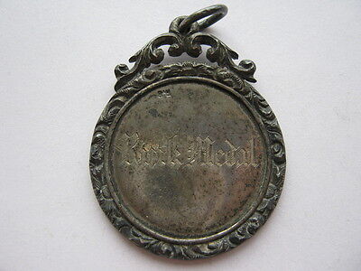 1878 Springkell Quoiting Club rink medal in silver.
