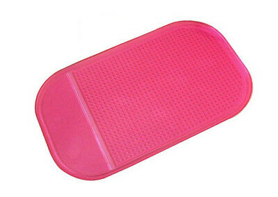 Red Car Dashboard Anti Slip Magic Mat Phone iPhone Keys Grip Sunglasses NEW