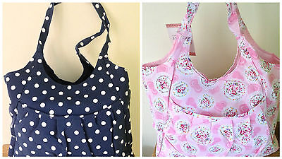 CRAFT BAG Storage for crafts sewing knitting 3 DESIGNS AVAILABLE Lovely Quality
