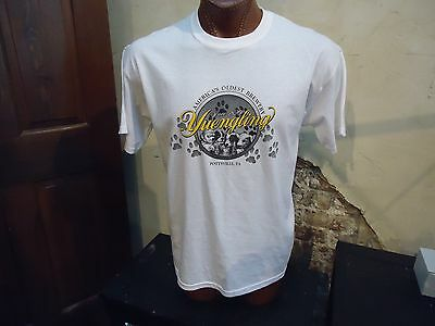 (W) Yuengling America's Oldest Brewery Since 1829 white large t-shirt