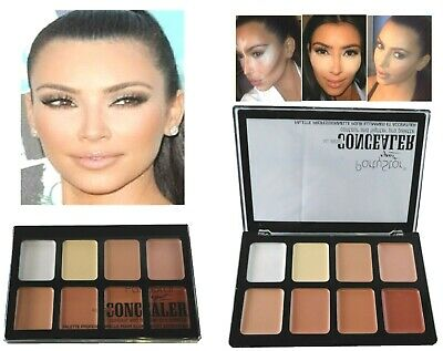 15 Colors Concealer Palette #2 Kit with Brush Face Makeup Contour Cream Neutral