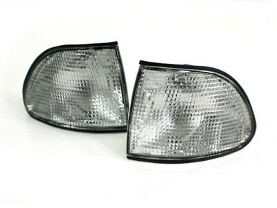 Clear Factory Style Euro Corner Lights for 95-98 BMW E38 7-Series