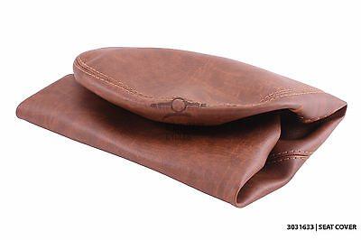 High quality brown seat cover for automatic vespa LX50 LX125 LX150 LX125i LX150i