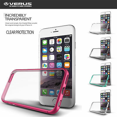 Verus Crystal Clear Transparent Slim Hard Cover For Apple iPhone 6 6 Plus Case