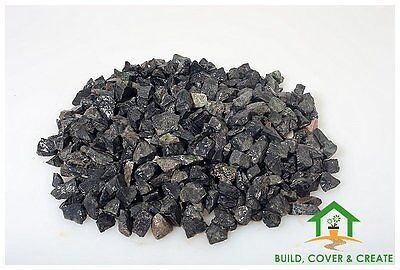 Black Midnight Chippings Gravel 900kg Bulk Bags Collection Only