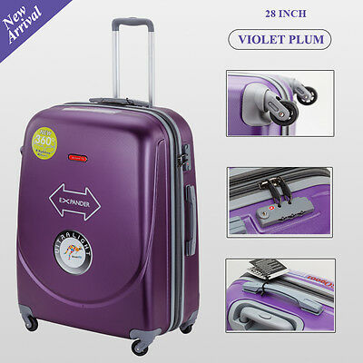 Single 28 inch 100L Large Luggage Trolley Travel Bag 4 Wheel  suitcase