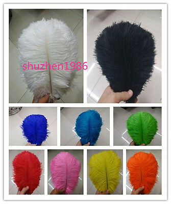 Wholesale! 5-50 pcs ostrich feathers (6-24 inch / 15-60 cm) a variety of colors