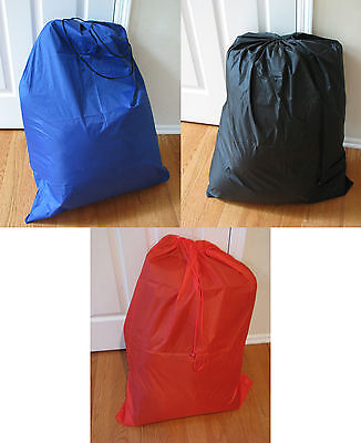 Laundry Bag Heavy Duty Large Jumbo Nylon Quality, Two Colors, Pack of 1, 2, 3, 4