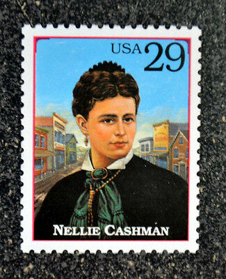 1994USA #2869k 29c Legends of the West - Nellie Cashman   Mint NH VF