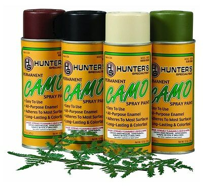 New Authentic Hunters Specialties Permanent Paint Kit Spray Camo 320