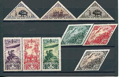 Tannu Tuva Yr 1936,Sc C10-16,Mlh,Independence,Perforation Variety