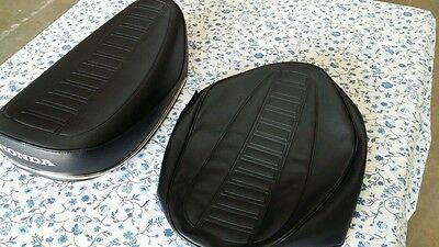 Honda CT70 TRAIL70 1977-1979 seat cover best quality dyed Honda logo (H88--n12)