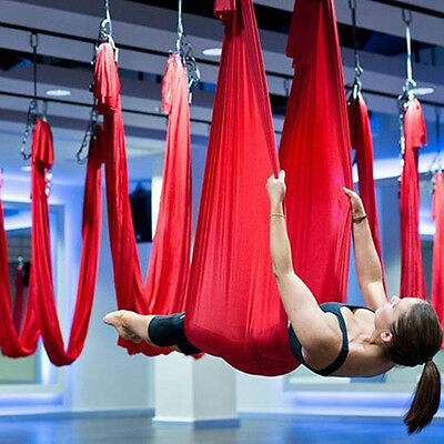 Deluxe Flying Yoga Inversion Swing Hammock For Aerial Yoga Hammock High Strength