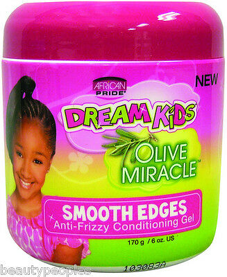 african pride Dreams Kids olive miracle smooth edges 170g