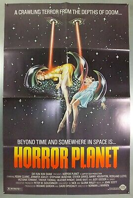 Horror Planet - Robin Clarke / Jennifer Ashley - Original Usa 1Sht Movie Poster