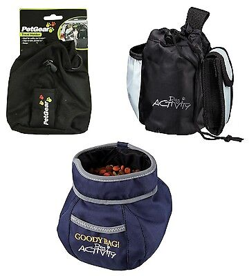 Dog Treat Bags Training Snack Bag with Belt Attachment Choice of 3