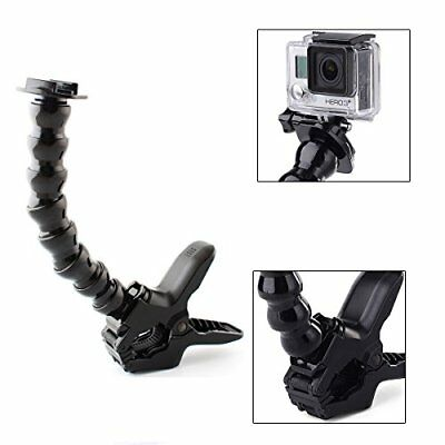PhotR Jaws Flex Clamp Clip Holder Mount Adjustable Neck Arm for GoPro Hero 3 4 5