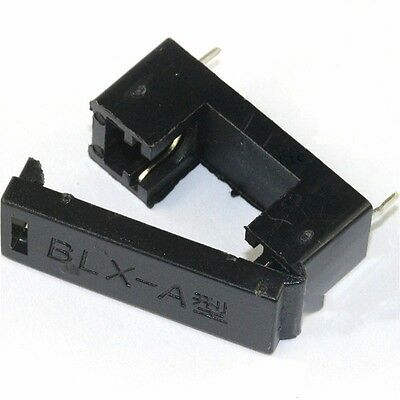 10PCS BLX-A type PCB Mount FUSE HOLDER 5MM X 20MM 15A/125v SOLDER HOLDERS