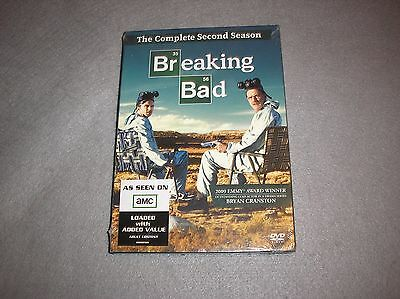 Breaking Bad The Complete Second Season 2 DVD 4-Disc Set BRAND NEW SEALED SIB