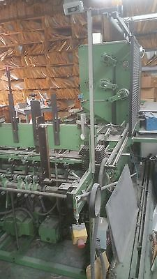 Kugler automated 3-ring binder rivet machine
