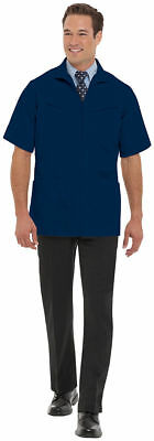 Landau Men's Four Pockets Short Sleeve Professional Jacket. 1140