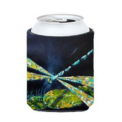 Carolines Treasures Insect Dragonfly Night Flight Dark Blue Can Or Bottle Hugger