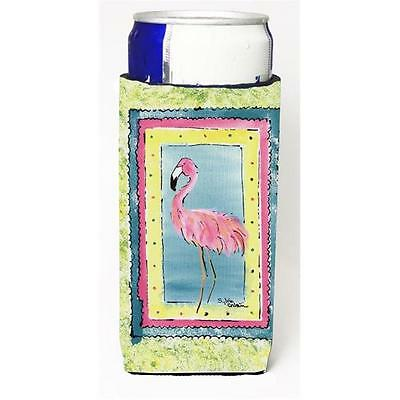 Carolines Treasures 8107MUK Bird Flamingo Michelob Ultra s for slim cans