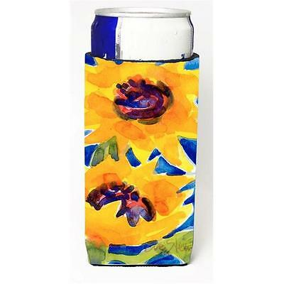 Carolines Treasures 6012MUK Flower Sunflower Michelob Ultra s for slim cans