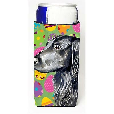 Flat Coated Retriever Easter Eggtravaganza Michelob Ultra s For Slim Cans 12 oz.