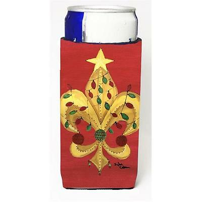 Christmas Tree With Lights Fleur De Lis Michelob Ultra s For Slim Cans 12 oz.