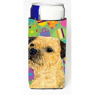 Border Terrier Easter Eggtravaganza Michelob Ultra s For Slim Cans 12 oz.