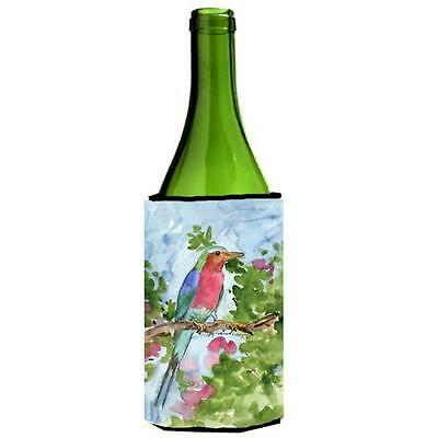 Carolines Treasures KR9010LITERK Bird Lilac Breasted Roller Wine Bottle Hugger