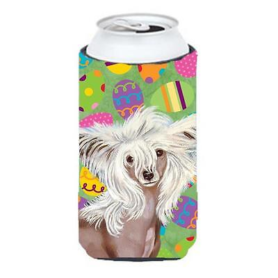 Chinese Crested Easter Eggtravaganza Tall Boy Hugger 22 To 24 oz.