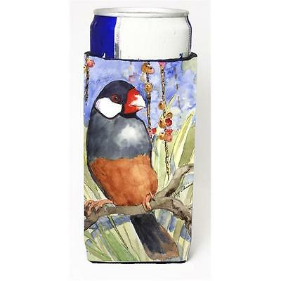 Carolines Treasures Bird Java Sparrow Michelob Ultra s For Slim Cans 12 oz.